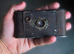 vest pocket kodak closed