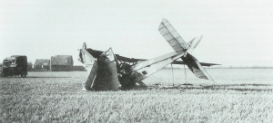 Plane crash at Narborough published with kind permission of Narborough Research Group