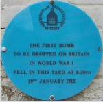 ww1 blue plaque Sheringham