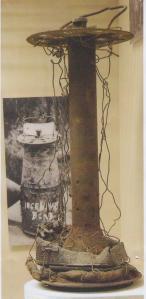WW1 bomb casing