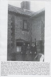 ww1 bombed house Sheringham