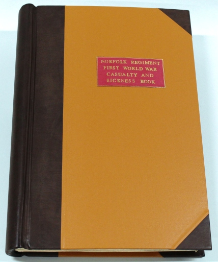 The Norfolk Regiment's First World War Casualty Book
