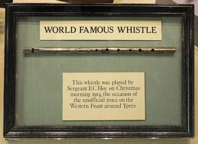 "Sergeant Hoy's ""World Famous Whistle"""