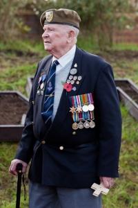 Len Fox, Normandy Veteran