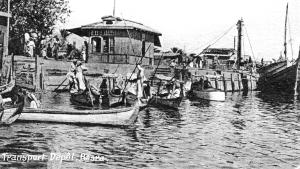 Transport on Ashar Creek ,Basra
