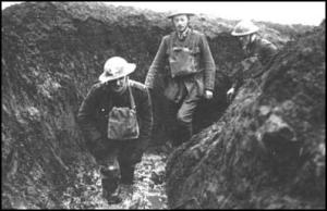 Walking the trenches