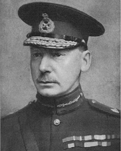 General Charles Vere Ferrers Townshend, Commander of the 6th (Poona) Division and heir presumptive (in 1915) to the 6th Marquess Townshend of Raynham Hall in Norfolk (public domain)