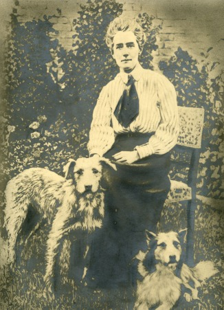 Edith Cavell and some canine friends