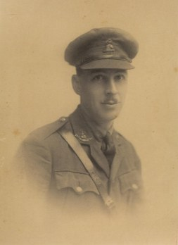 Cecil Upcher, architect turned soldier.