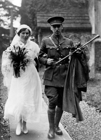 Upcher marrying Hilda Ward.