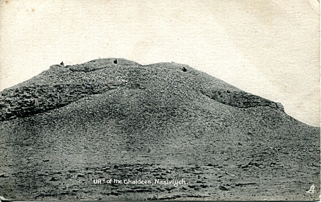 Ur of the Chaldees_postcard