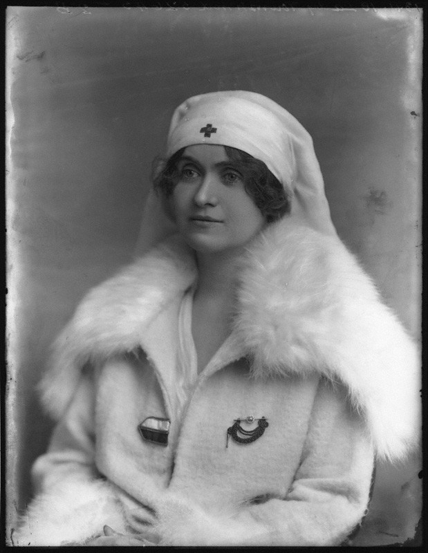 Alice Townshend in 1918 © National Portrait Gallery