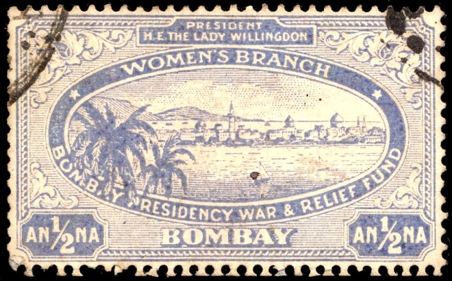 Bombay Presidency stamp