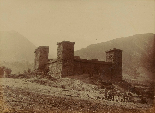 Chitral Fort_1895
