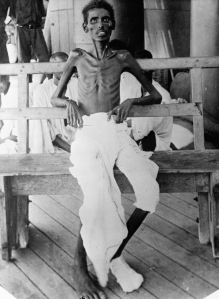 Indian Army Soldier after Siege at Kut. Taken from the UK National Archives