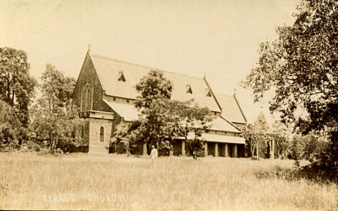 All Saints Church, Kirkee, in the 1920's