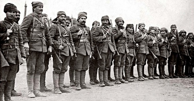 Turkish Infantry
