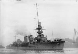 HMS Centaur during WW1