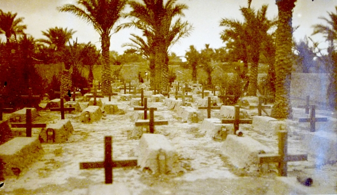 'Our Cemetery at Kut-el-Amara', from the Diary of F.C. Lodge