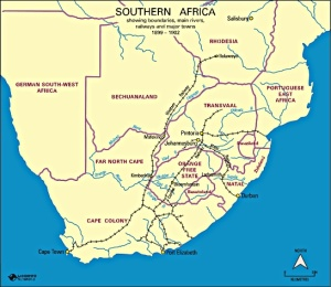 Southern  Africa during the Second Boer War, 1899-1902 Courtesy of the Autralian War Memorial: www.awm.gov.au/atwar/boer/www.awm.gov.au/atwar/boer/