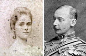 Alice Cahen d'Anvers and CVFT at about the time of their Engagement