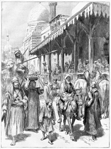 The Khartoum Slave Market in 1892 The Graphic, January 16, 1892 'The slaves are mostly girls of from ten to sixteen years of age'