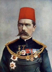 Sir Herbert Kitchener wearing the insignia of Earl Kitchener of Khartoum public domain image