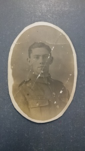 Private 240868 Edward Arthur Bubbings of the 1/5th Battalion Norfolk Regiment who died of wounds on 17th July 1917