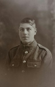 Private 241000 Daniel Rout who served in the 1/5th Battalion Norfolk Regiment.