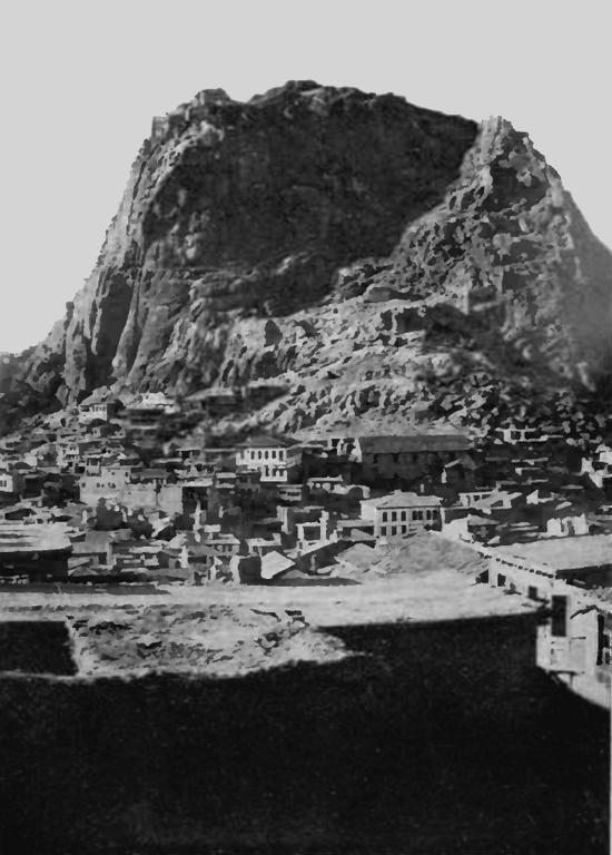Afion Kara Hissar, which translates as Black Opium Castle A Prisoner in Turkey, John Still, 1920 (NB John Still was the son of Canon John Still, once Rector of Hethersett and Vicar of Ketteringham)