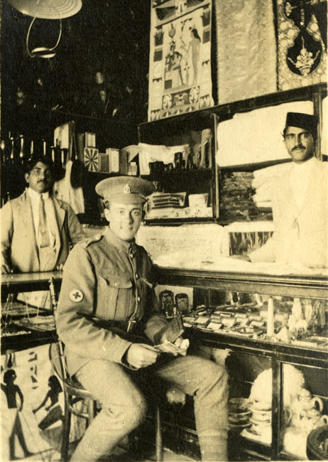 Freestone, Frederick, inside an Eqyptian Bazaar during the First World War