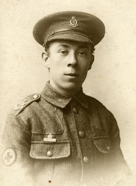 Freestone, Frederick Ernest, portrait in uniform