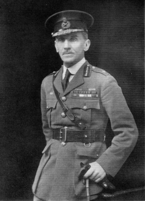major-General Sir Charles Melliss,V.C. in 1919 frontispiece to Dorothy L. Neave, 'Remembering Kut', 1937