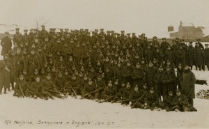 Picture Norfolk Image: Royal Norfolk Regiment, 2/5th Battalion group 'somewhere in England' 1917