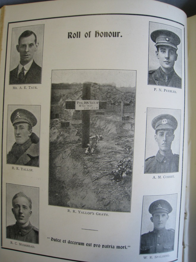 Photo 2 Roll of honour