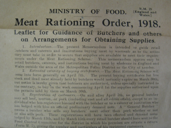 Photo 3 Meat Rationing Order cropped