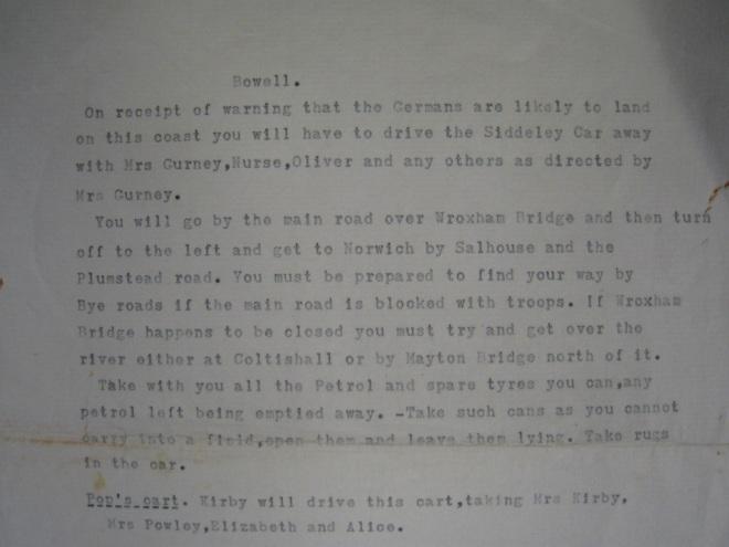 Photo 5. Gurney's instructions to employee-ed.