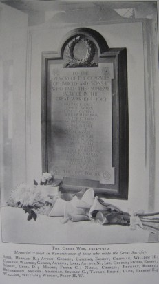 Photo 1 Jarrolds memorial