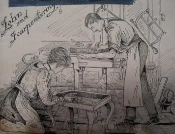 Photo 2 Carpentering together